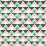 Modello tribale geometrico Fotografia Stock Libera da Diritti