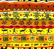 Modello tribale senza cuciture Fotografia Stock Libera da Diritti