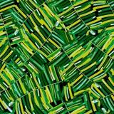 Modello tropicale, fondo floreale di vettore senza cuciture delle foglie di palma Pianta esotica illustrazione vettoriale