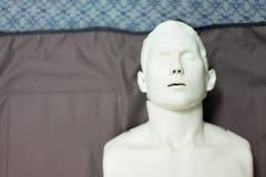 Modello umano usato per addestramento di resurrezione fotografie stock libere da diritti