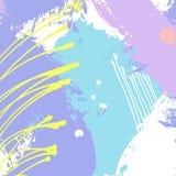 Modello universale contemporaneo creativo artistico Strutture disegnate a mano Nozze, anniversario, compleanno, decorazione del p illustrazione di stock