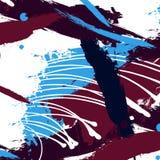 Modello universale contemporaneo creativo artistico Strutture disegnate a mano Nozze, anniversario, compleanno, decorazione del p illustrazione vettoriale