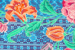 Modello variopinto dei sarong del batik Immagine Stock