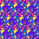 Retro fondo dei triangoli Fotografia Stock Libera da Diritti