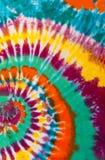 Modello variopinto di progettazione di spirale di turbinio della tintura del legame immagine stock libera da diritti