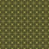 Modello verde Fotografia Stock Libera da Diritti