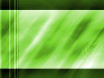 Modello verde Fotografie Stock