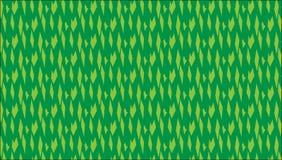 Modello verde astratto moderno semplice dei diamanti Immagini Stock