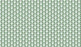 Modello verde astratto moderno semplice della maglia delle bolle Immagini Stock