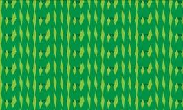 Modello verde astratto moderno semplice delle gemme Fotografia Stock