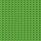Modello verde del cubo immagini stock