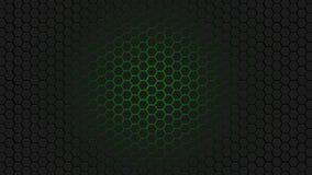 Modello verde del favo Fotografia Stock