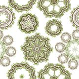 Modello verde della foglia per il vostro disegno Fotografia Stock