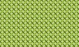Modello verde della stella Fotografia Stock Libera da Diritti