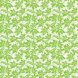 Modello verde etnico Immagine Stock Libera da Diritti
