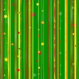 Modello verde senza cuciture di Natale Immagine Stock Libera da Diritti
