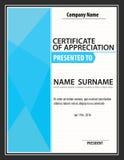 Modello verticale del certificato, diploma, dimensione della lettera, vettore illustrazione vettoriale