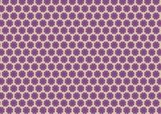 Modello viola floreale di autunno illustrazione di stock