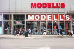 Modells Royaltyfri Foto