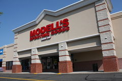 Modells sporting goods Royalty Free Stock Image