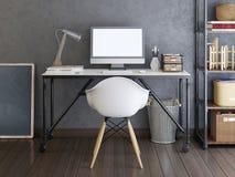 Modellskärmbildskärm på skrivbordet Vektor Illustrationer