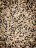 Modelltexturbrunt stenar kiselstenar arkivbild