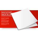 Modelltidskrift röd line12-01 Royaltyfri Bild