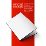 Modelltidskrift röd line6-01 Arkivfoto
