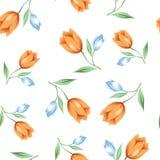 Modellvattenfärgen blommar 002 Royaltyfri Bild