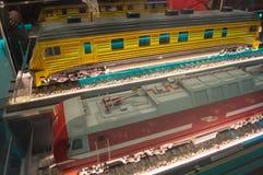 Modellzüge Stockbilder