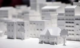 Modelo à escala Building Foto de Stock