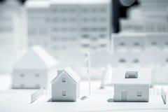 Modelo à escala Building Fotografia de Stock Royalty Free