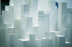 Modelo à escala Building Fotografia de Stock
