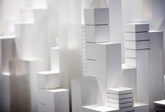 Modelo à escala Building Fotos de Stock