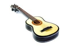 Modelo à escala da guitarra Fotografia de Stock