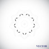 Modelo árabe geométrico Imagen de archivo libre de regalías