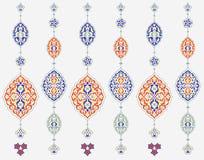 Modelo árabe para el diseño del fondo Fotos de archivo