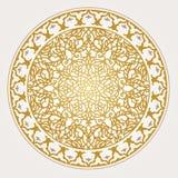 Modelo árabe para el diseño del fondo Foto de archivo