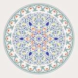 Modelo árabe para el diseño del fondo Fotografía de archivo