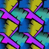 Modelo áspero inconsútil geométrico abstracto del grunge, desig moderno foto de archivo
