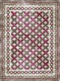 Modelo étnico de la alfombra de la manta imagen de archivo libre de regalías
