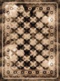 Modelo étnico de la alfombra de la manta foto de archivo