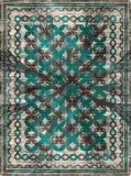 Modelo étnico de la alfombra de la manta imagenes de archivo