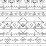 Modelo étnico de Perú ilustración del vector