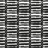 Modelo étnico inconsútil blanco y negro Imagenes de archivo