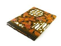 Modelo étnico tradicional del batik de Indonesia de Java Javanese Fotografía de archivo