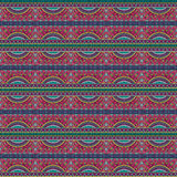 Modelo étnico tribal del vector abstracto Imágenes de archivo libres de regalías