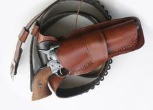 Modelo 1873 del potro del revólver Imagen de archivo
