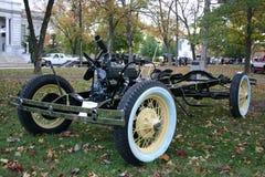 Modelo 1930 un chasis y un motor Foto de archivo libre de regalías