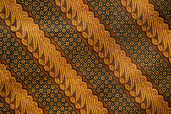 Modelo 2 del batik Foto de archivo libre de regalías